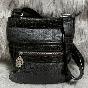 Brighton Pebbled Leather Crossbody